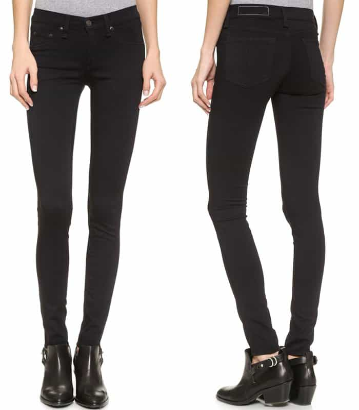 Rag & Bone JEAN The Plush Legging Jeans