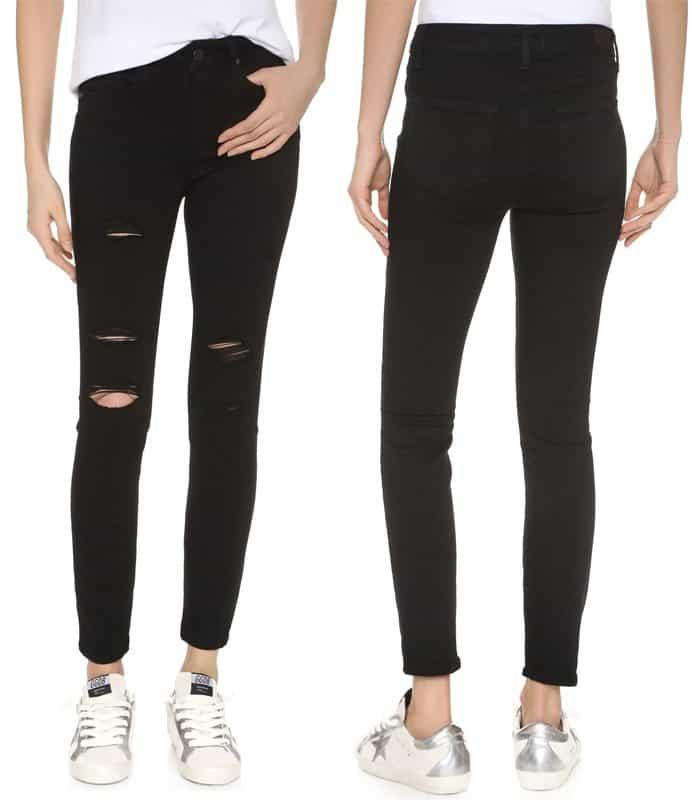 Paige Denim Transcend Hoxton Ankle Skinny Jeans
