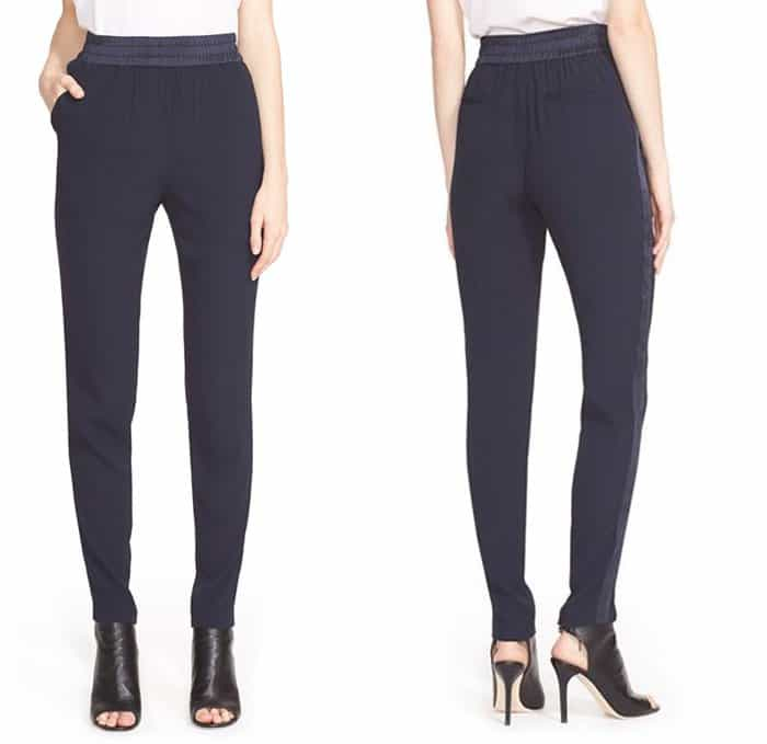 Rebecca Taylor Emma Side Stripe Pants