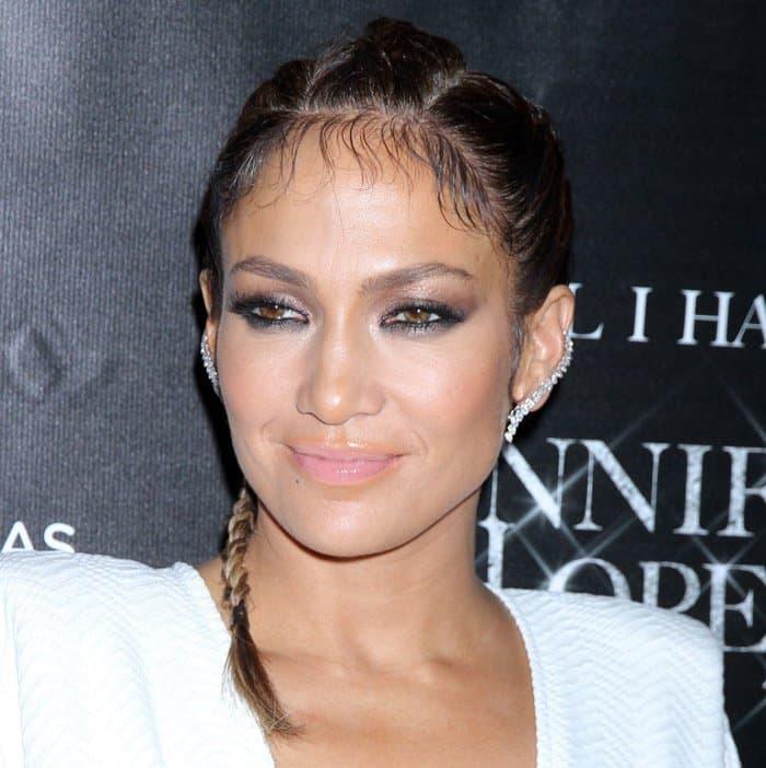 Jennifer Lopez celebrates her Las Vegas residency at Cheateau Nightclub & Rooftop