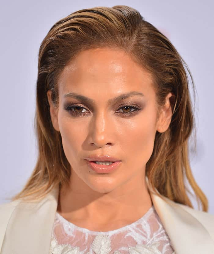 Jennifer Lopez at the 2015 Billboard Latin Music Awards