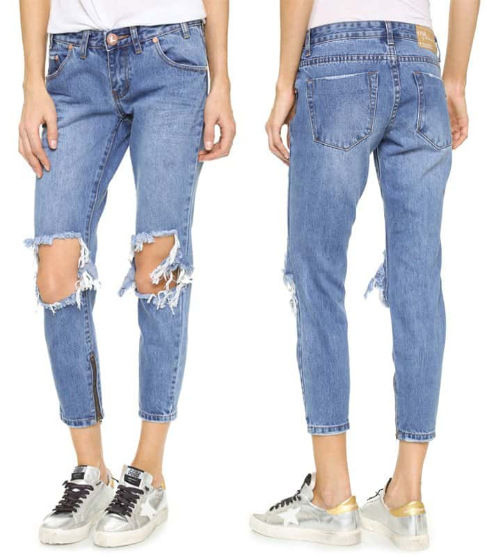 One Teaspoon Pacifica Freebird Jeans