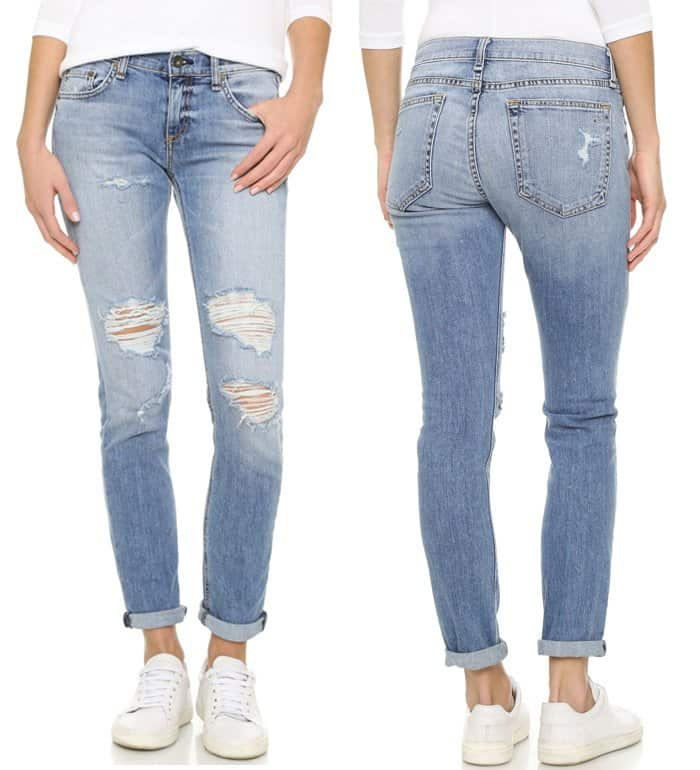 Rag & Bone JEAN Slim Fit Boyfriend Jeans