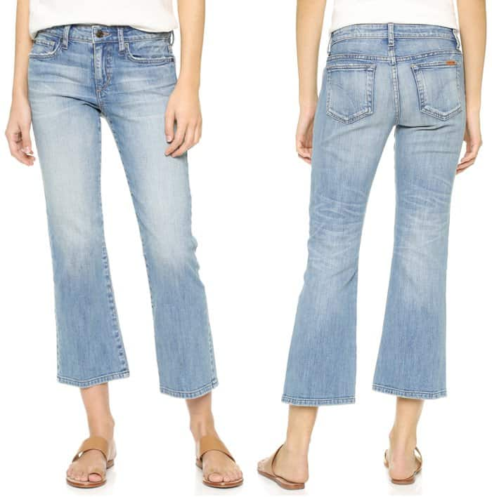 Joes Jeans The Olivia Cropped Flare Jeans