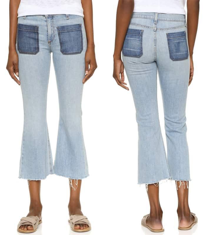 Rag & Bone JEAN Santa Cruz Flare Jeans