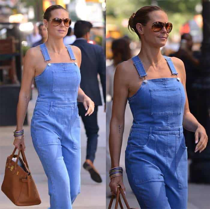 Heidi Klum Stella McCartney Jumpsuit3