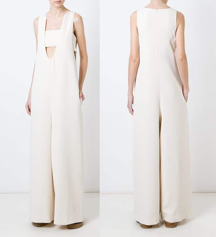 Opening Ceremony Deep U Neckline Jumpsuit