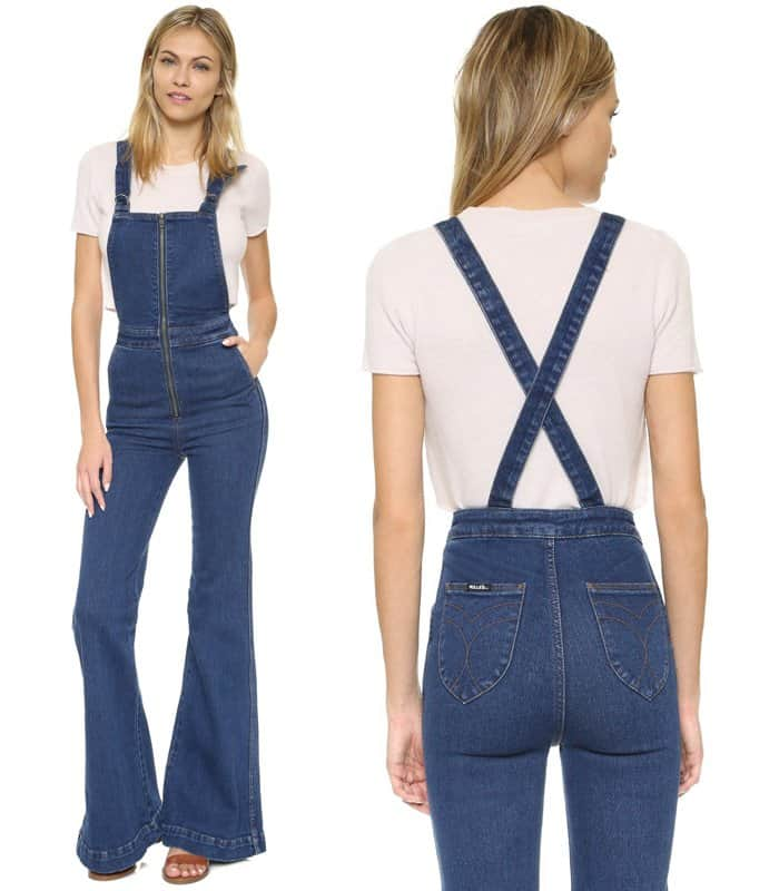 Rollas East Coast Flare Overalls