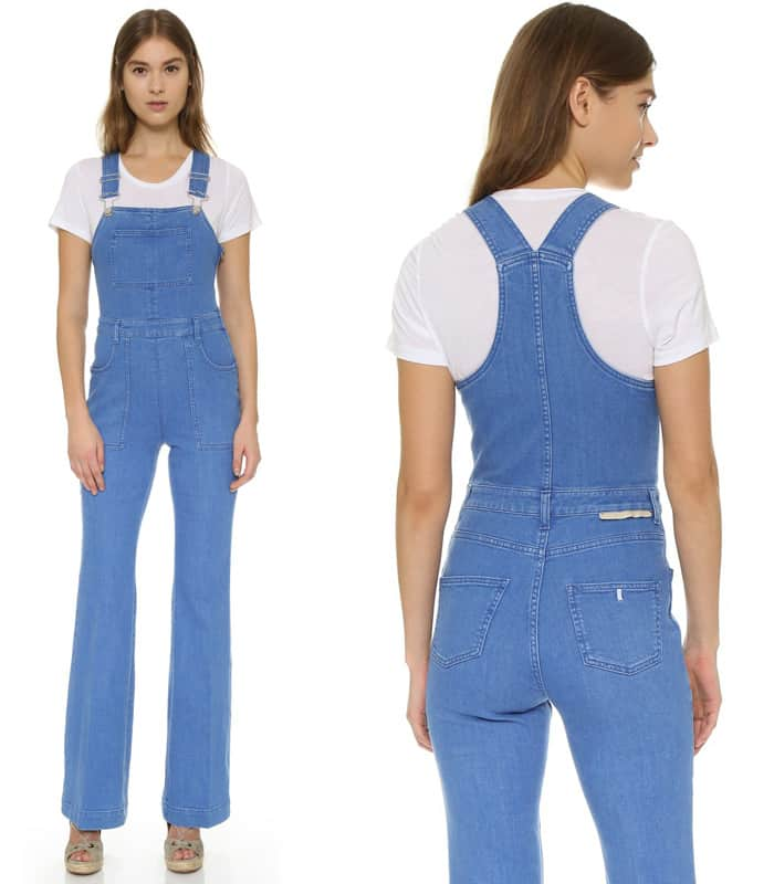 Stella McCartney Stretch Denim Overalls