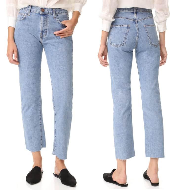 Current Elliott The Original Straight Jeans