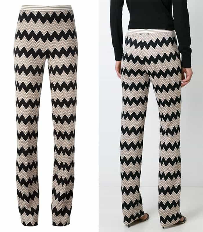 Missoni Chevron Print Trousers