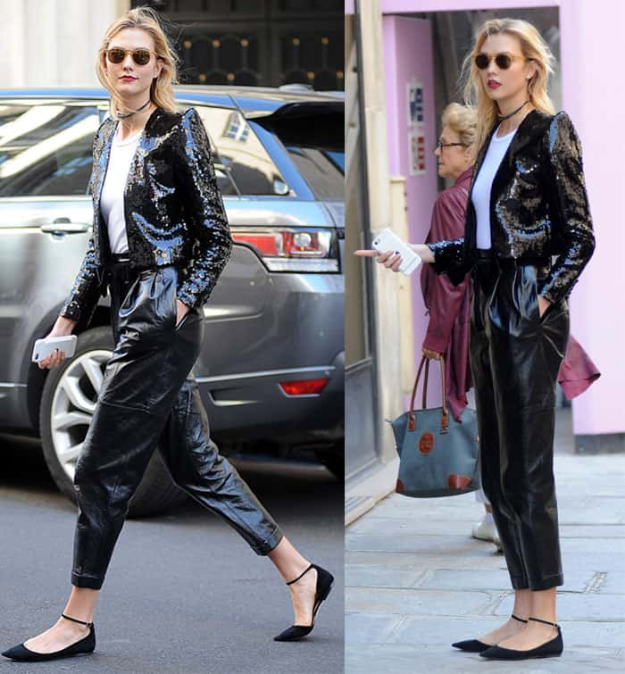 karlie-kloss-philosophy-di-lorenzo-pants-paris-fashion-week2