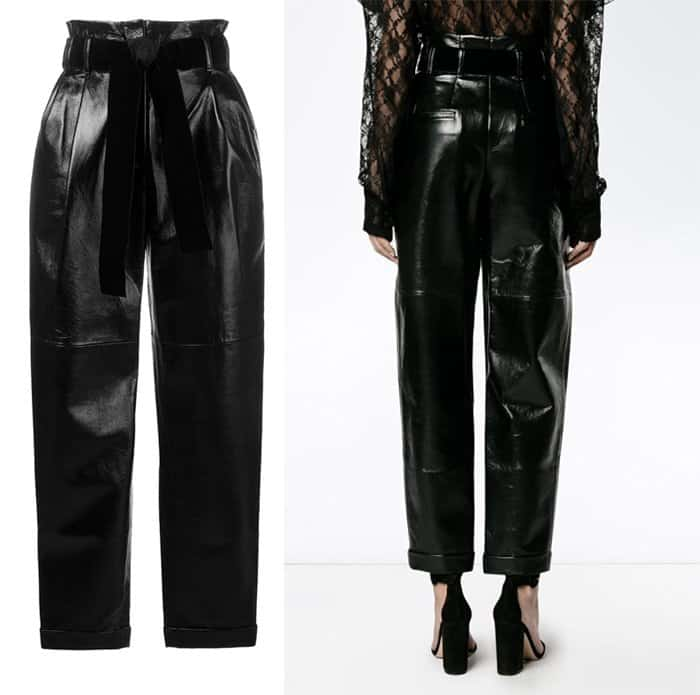 philosophy-di-lorenzo-serafini-belted-high-waist-trousers