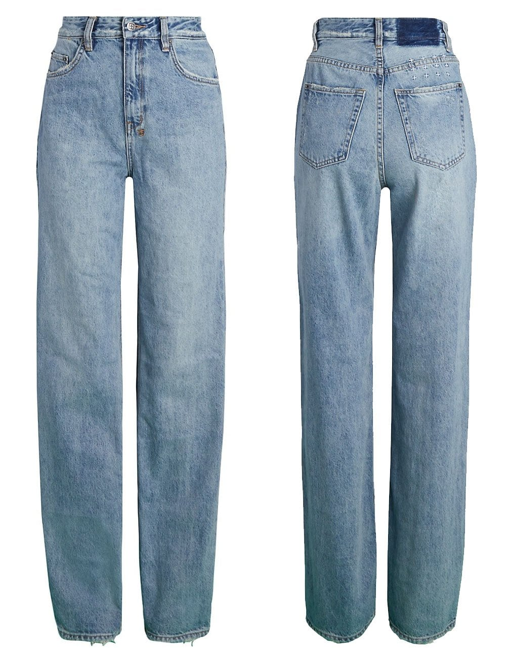 The Playback Karma is a '90s-inspired relaxed straight-leg denim jean with an ultra high waist and five-pocket