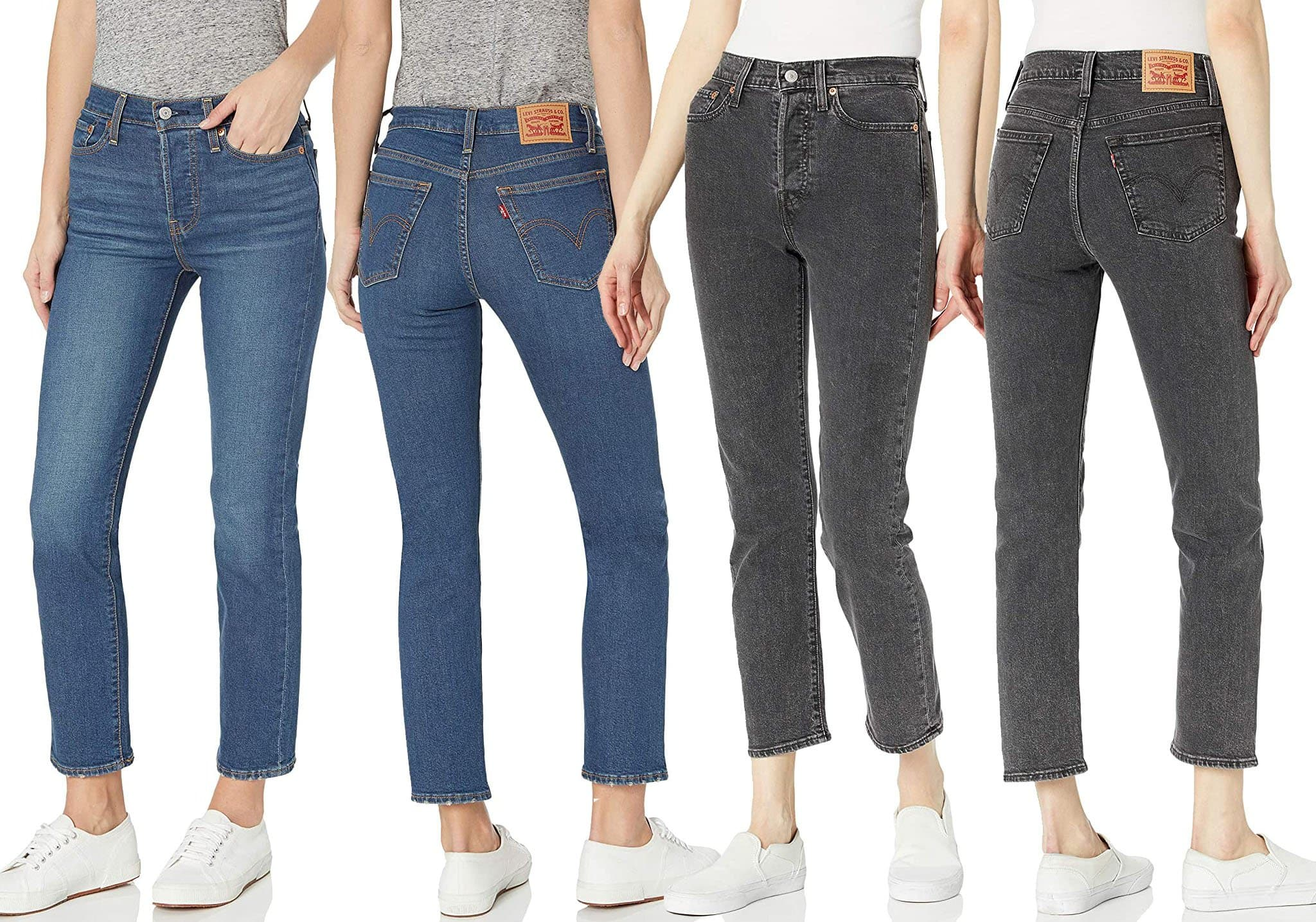 The Wedgie straight jean features a vintage-inspired style designed with a special construction to highlight your curves and give your butt an extra lift